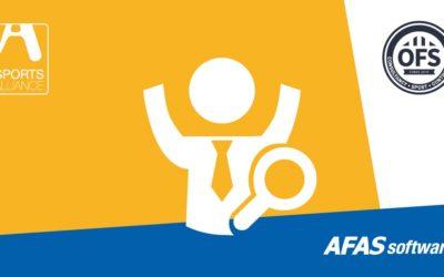 Sports Alliance en OFSsport integreren AFAS met de Orange Box